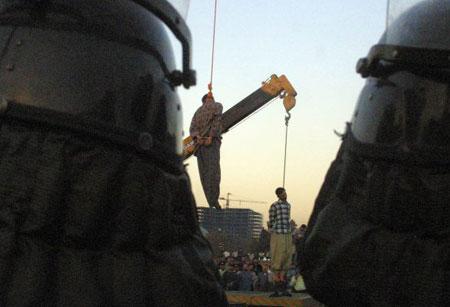 impiccato irann